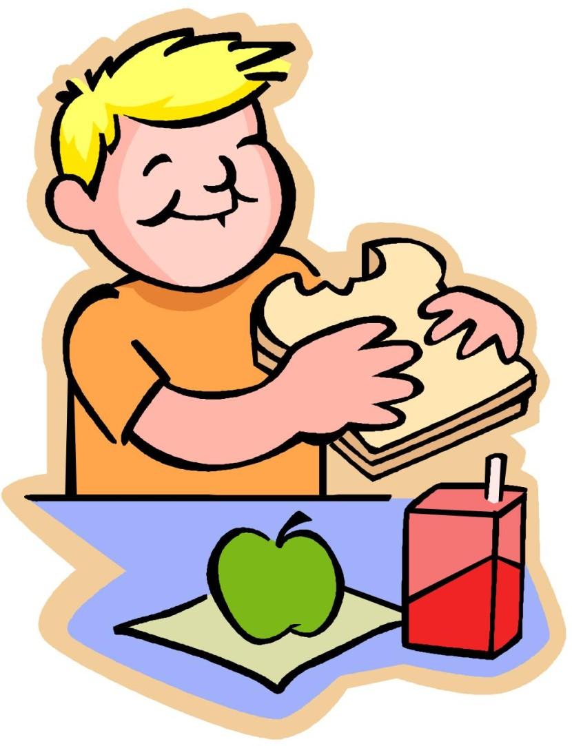 Breakfast clipart children's Eating Clipart Breakfast com Lunch
