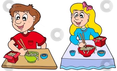 Breakfast clipart children's Children's BLUE 12 IN THE