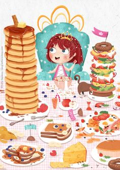 Breakfast clipart cold food Savoury? #kidlitart of  food