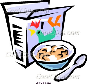 Breakfast clipart cold food Art Breakfast cereal Clip Breakfast