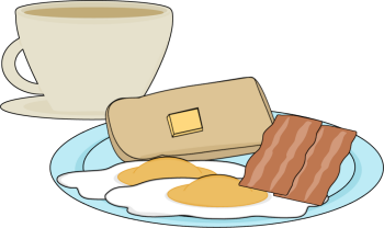 Coffee clipart breakfast Coffee with Coffee Breakfast with