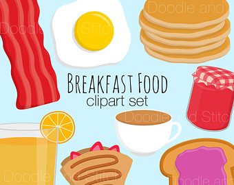 Breakfast clipart food dish Bacon Clip Clipart Pictures Breakfast