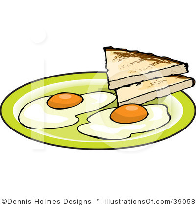 Rooster clipart breakfast #6
