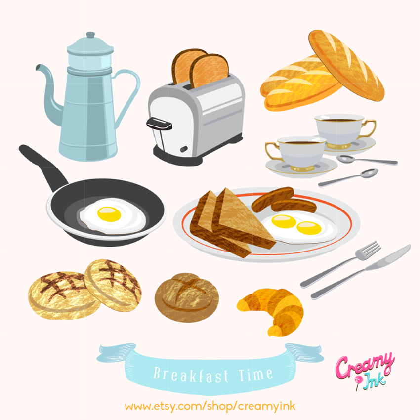 Bread clipart packed Clipart Cake Clip Design Digital