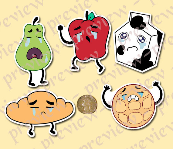 Breakfast clipart friend Item? Friends Crying Stickers Universe