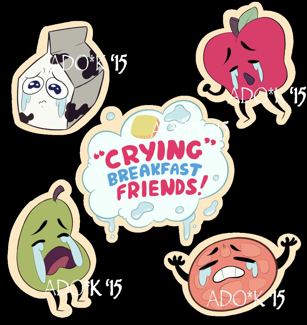 Breakfast clipart friend 71 Sunshine Sticker by Friends: