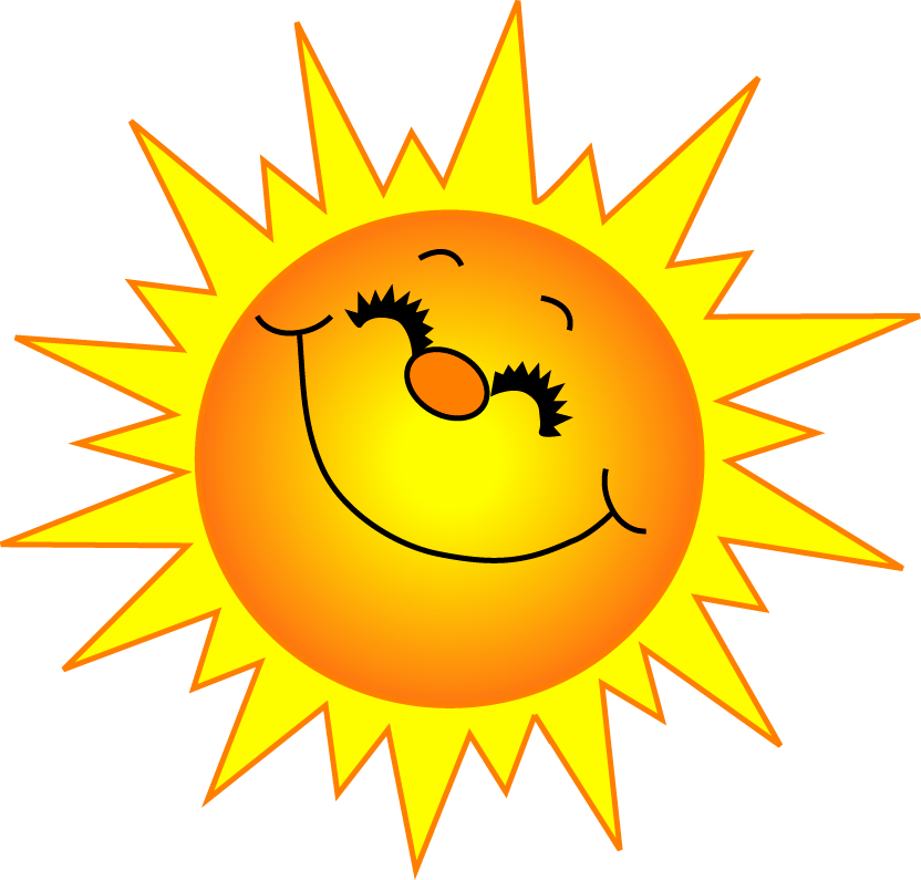 Warmth clipart sunny Sunshine Good and Springtime! Morning