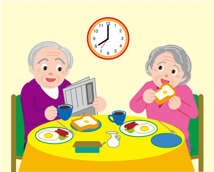 Breakfast clipart grandparent Clipart And Free Clipart Grandfather