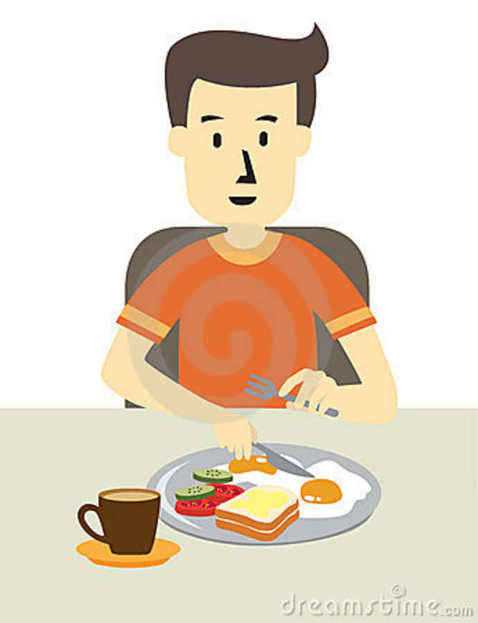 Breakfast clipart had Clipart Images Eating ~ Clipart