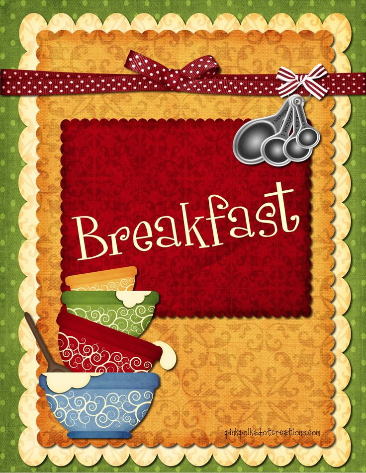 Breakfast clipart had 143 My Baking~Cooking~Treats about 007
