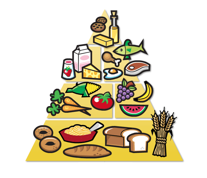 Drawn pyramid cartoon Food Clipart food Collection Download