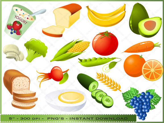 Yogurt clipart bagel Clipart Lunch Clipart Healthy Food