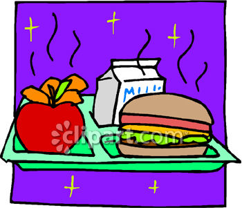 Breakfast clipart healthy school Clipart Art eating For Kids