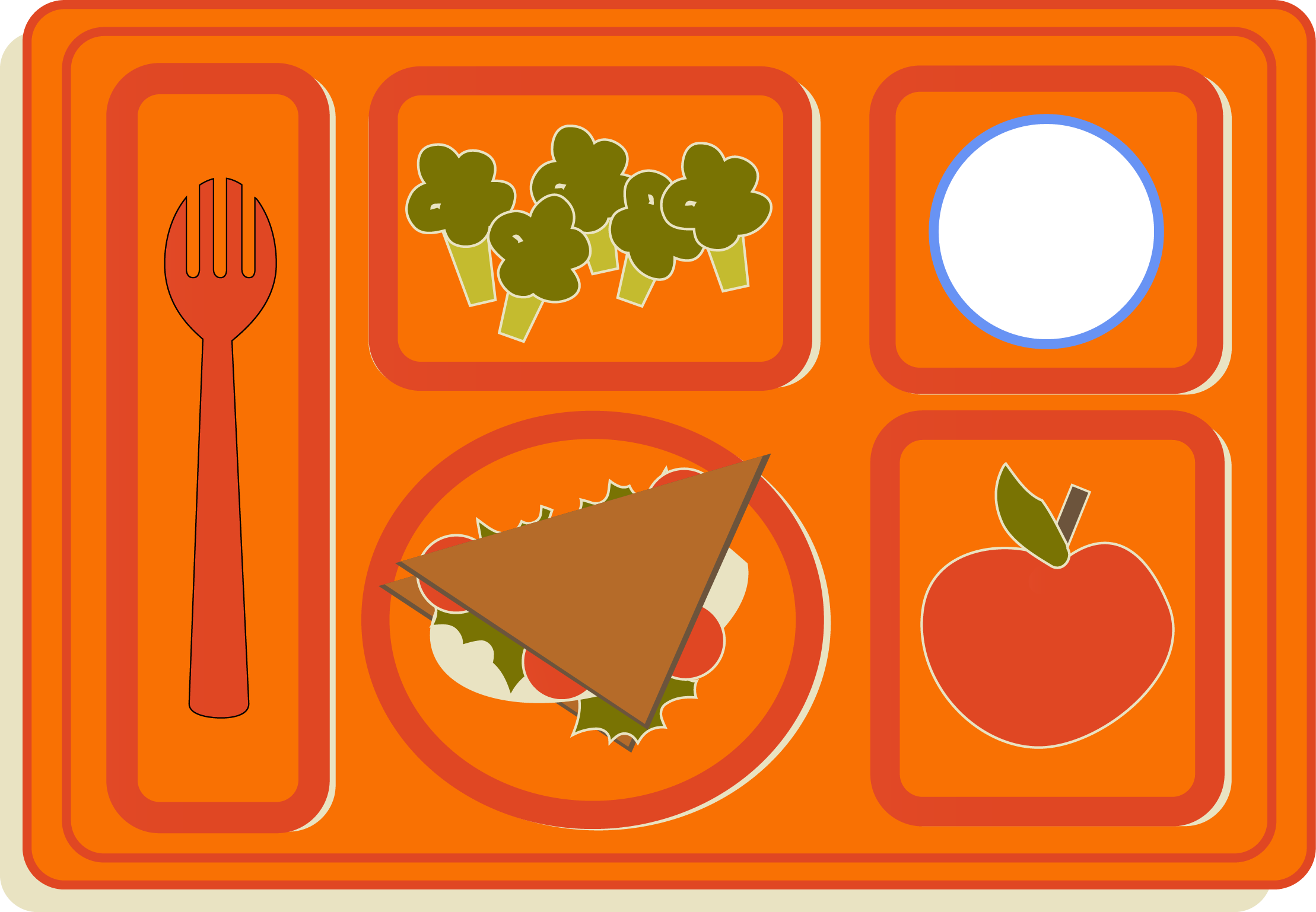 Breakfast clipart healthy school Lunch and and breakfast clipart