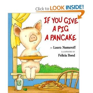 Breakfast clipart if you give a pig a pancake Storytime a even You adorable