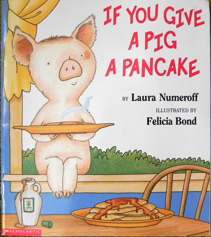 Breakfast clipart if you give a pig a pancake A You You A If