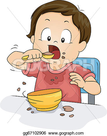 Breakfast clipart kid breakfast Collection Art Breakfast Clip Eating