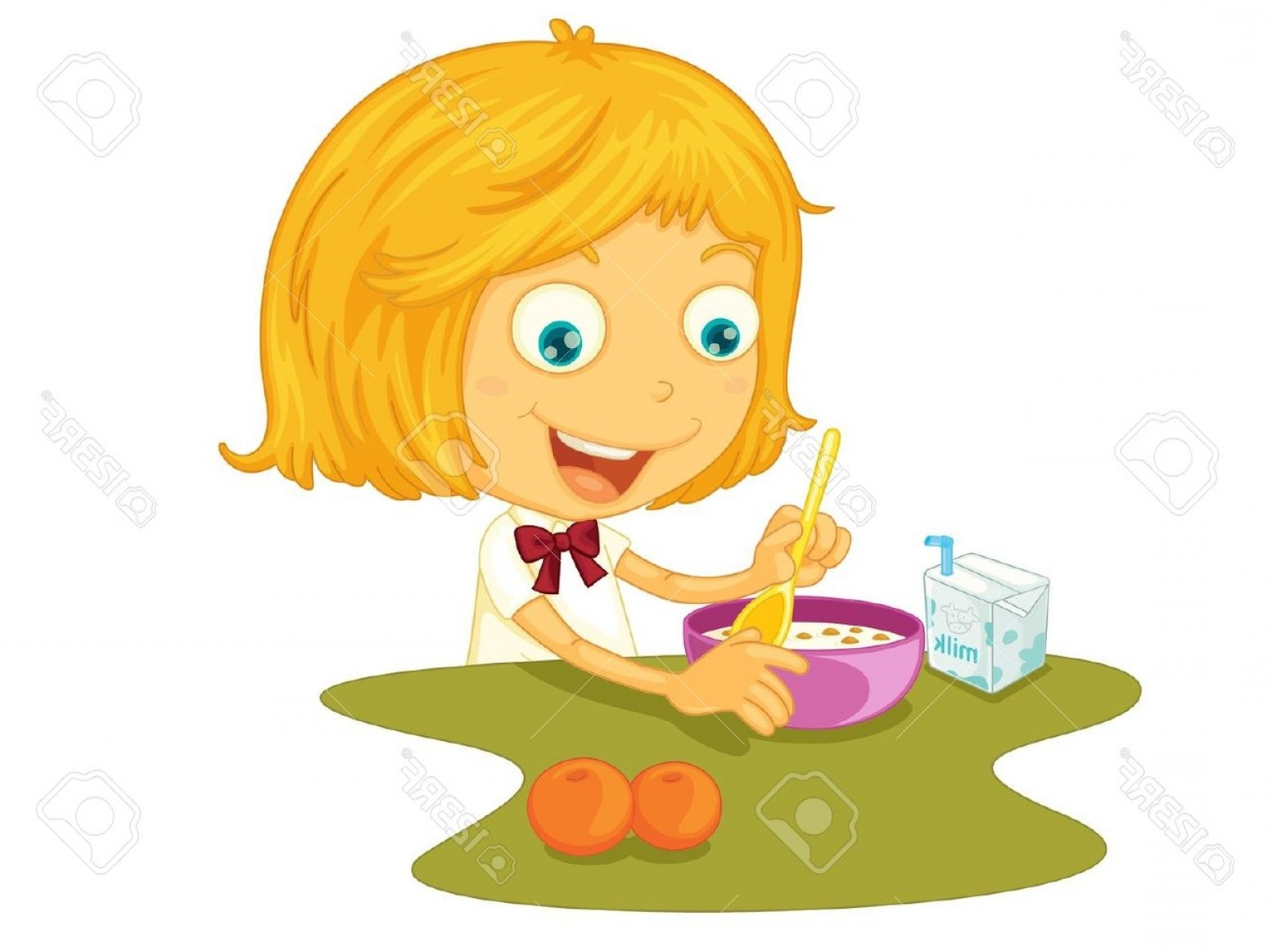Breakfast clipart kid breakfast Clip 4780 Breakfast Clipart Images