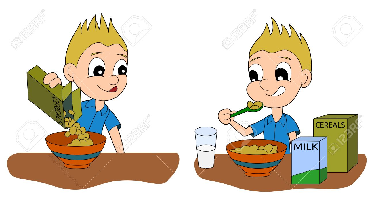 Breakfast clipart kid breakfast Breakfast clipart school breakfast Kids