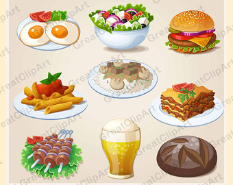 Kebab clipart stick Breakfast clip sandwiches Food clipart