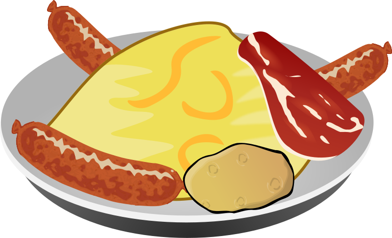 Breakfast clipart meal Meal Art Breakfast Hearty Breakfast