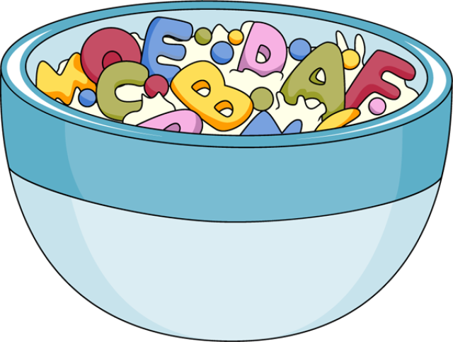 Cereal clipart breakfast time Cereal milk Clip collection cereal
