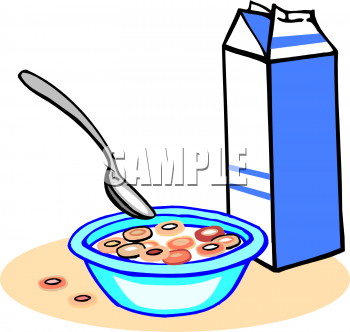 Cereal clipart breakfast time This of milk picture foodclipart