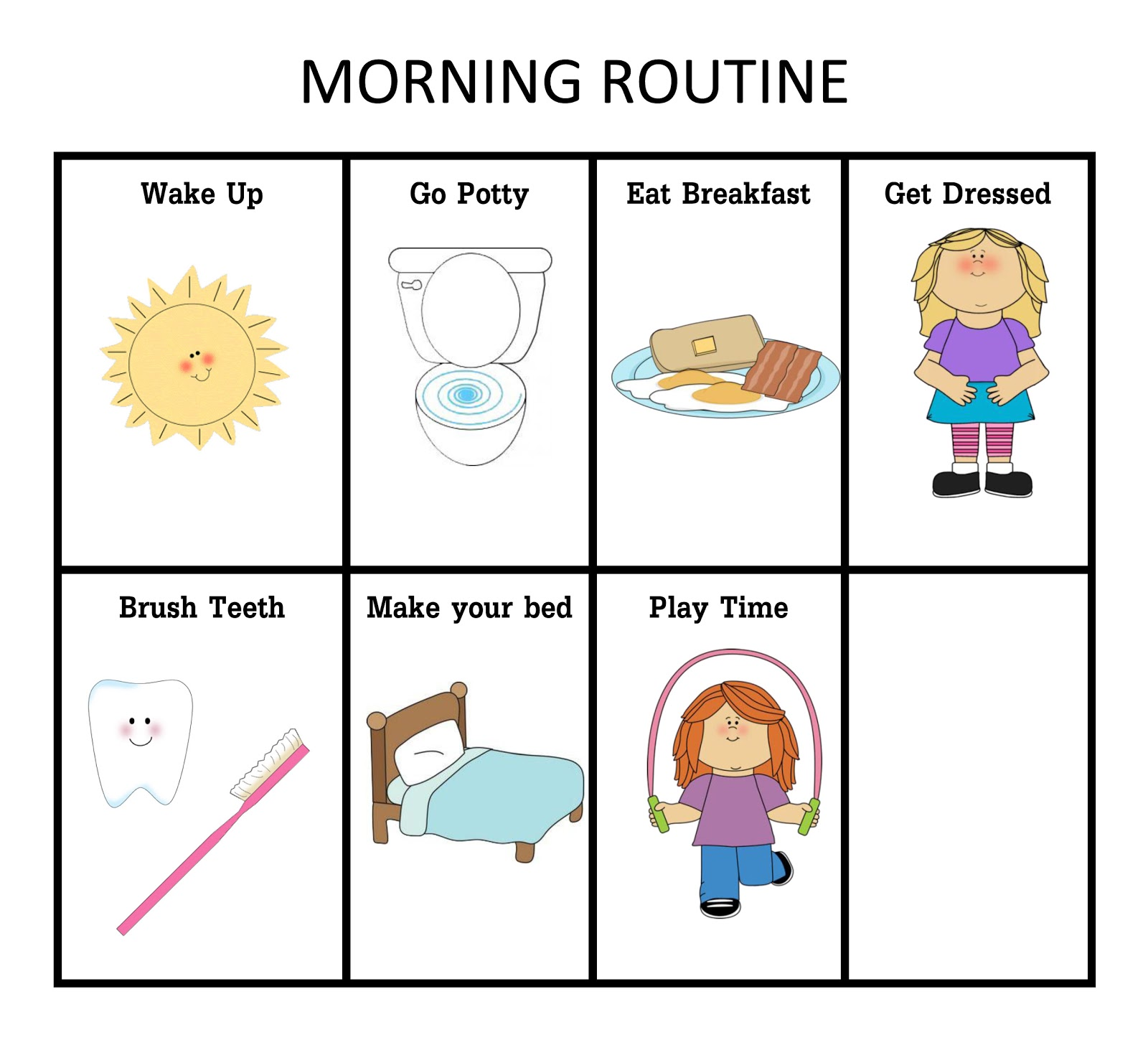 Breakfast clipart morning work Clipart Images Panda Images Art