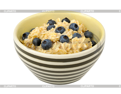 Oat clipart bowl porridge By: white Rusgri on a