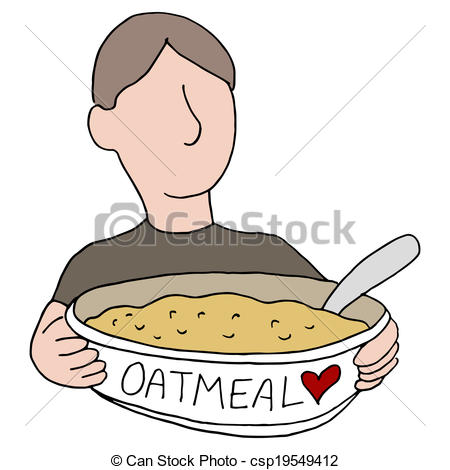 Breakfast clipart oatmeal Oatmeal Download Art Breakfast Oatmeal
