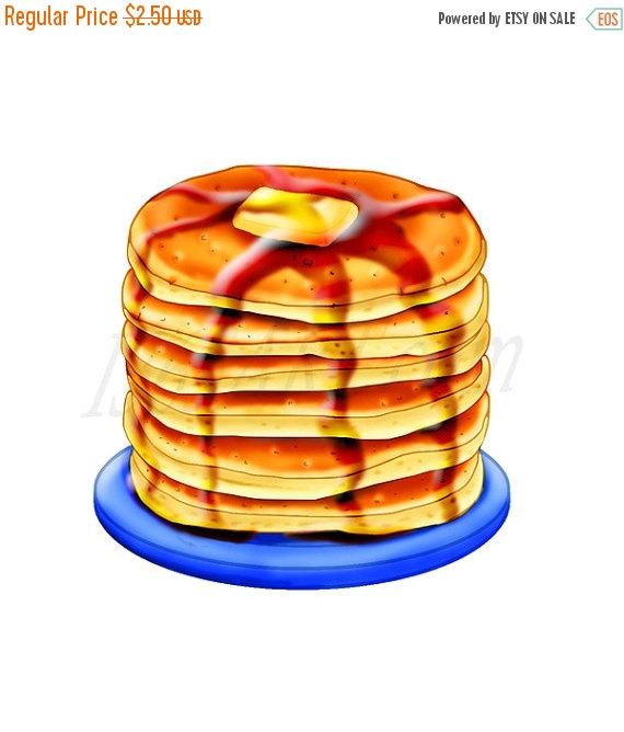 Breakfast clipart pancake Pancake Clipart clipart sale Free