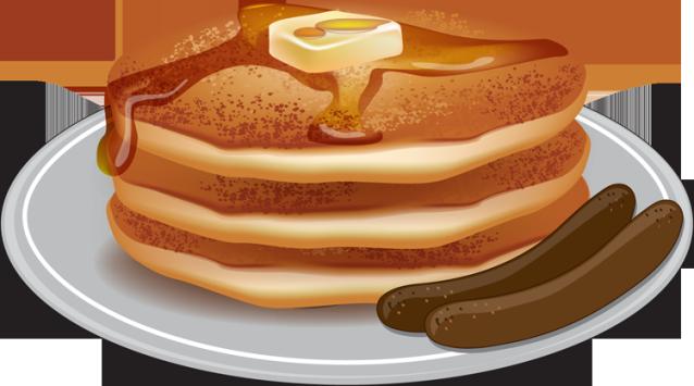 Pancake clipart pancake sausage Download Clipart And Clipart Pancake