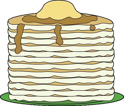 Pancake clipart stack pancake Image Pancakes Art Stack of