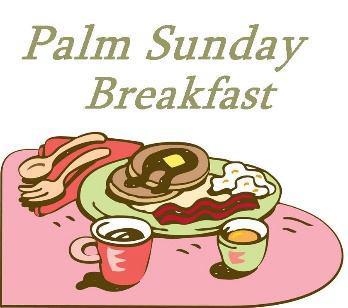 Breakfast clipart sunday school Breakfast Sunday Palm Church Lutheran