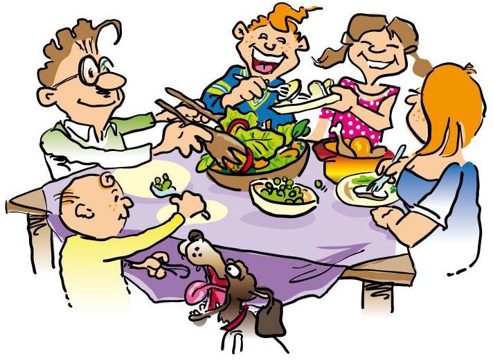 Thanksgiving clipart supper Clipartfest Thanksgiving clip dinner Free