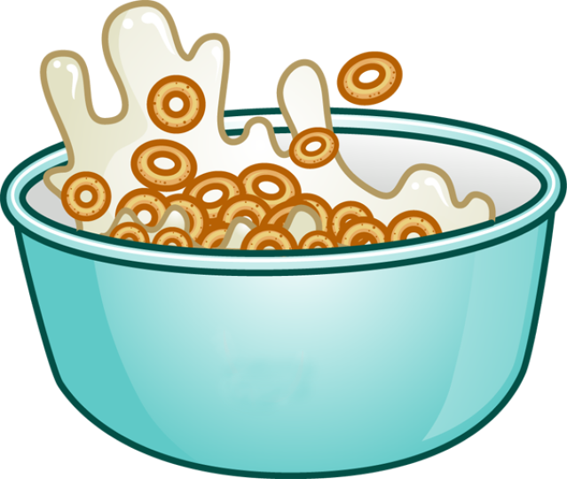 Cereal clipart transparent Art Morning Clip Breakfast Free