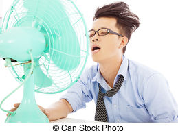 Chill clipart sick man Images Cool use breeze fans