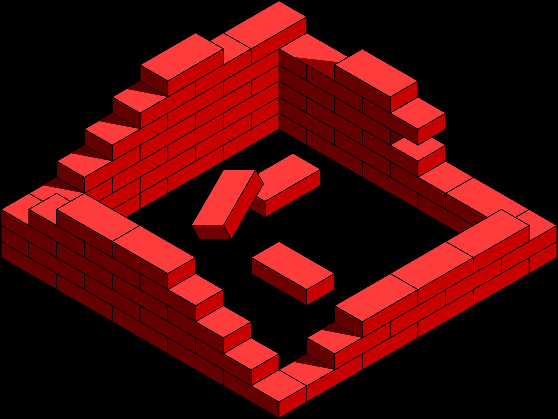 Brick clipart 2 brick destroyed Brick clip