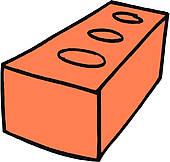Brick clipart Clip of GoGraph Free ·