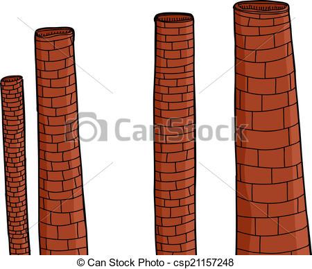 Brick clipart brick chimney Factory Vector Chimneys Brick Brick
