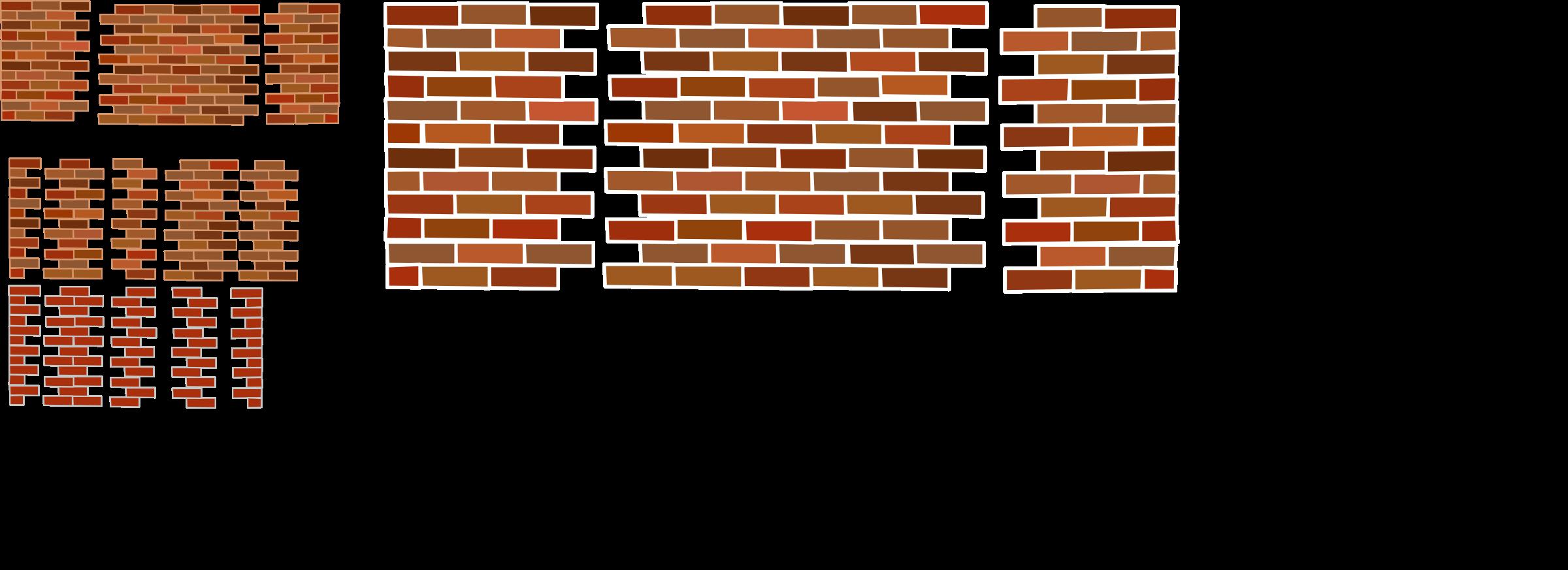 Brick clipart broken brick Brick walls Clipart walls Brick