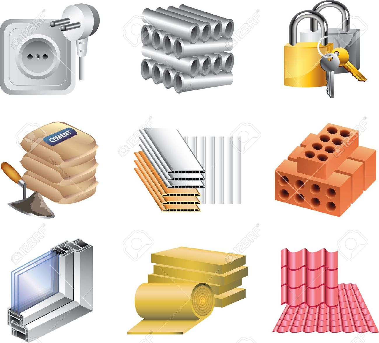 Brick clipart well Roofing art Search clip Search