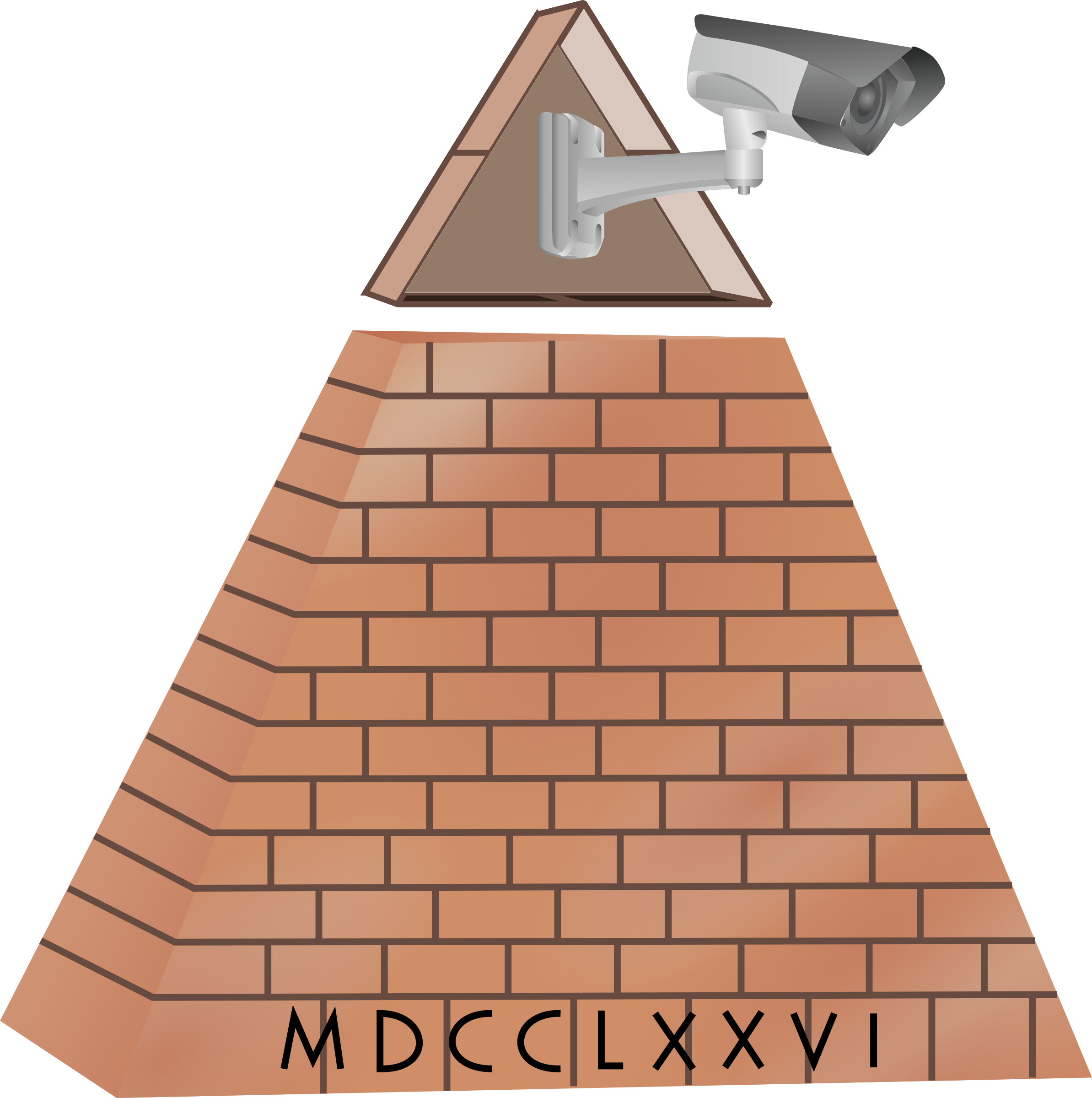 Brick clipart pyramid Clipart Simple Clipart Pyramid Images