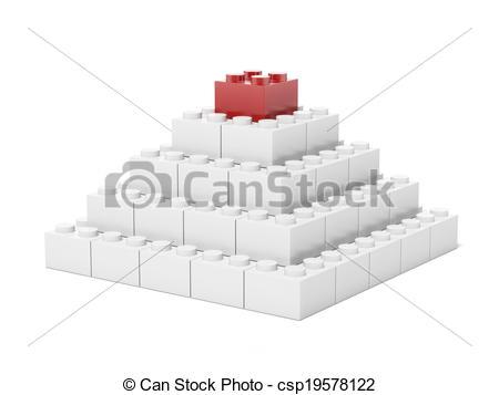 Brick clipart pyramid Brick of brick Stock made
