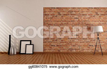 Brick clipart brick chimney On old Stock vase frame