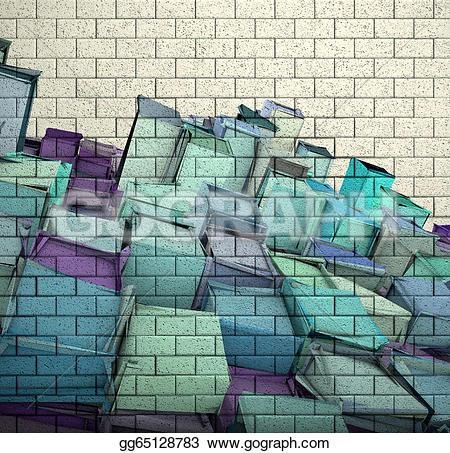 Brick clipart tile Brick mosaic wall brick gg65128783