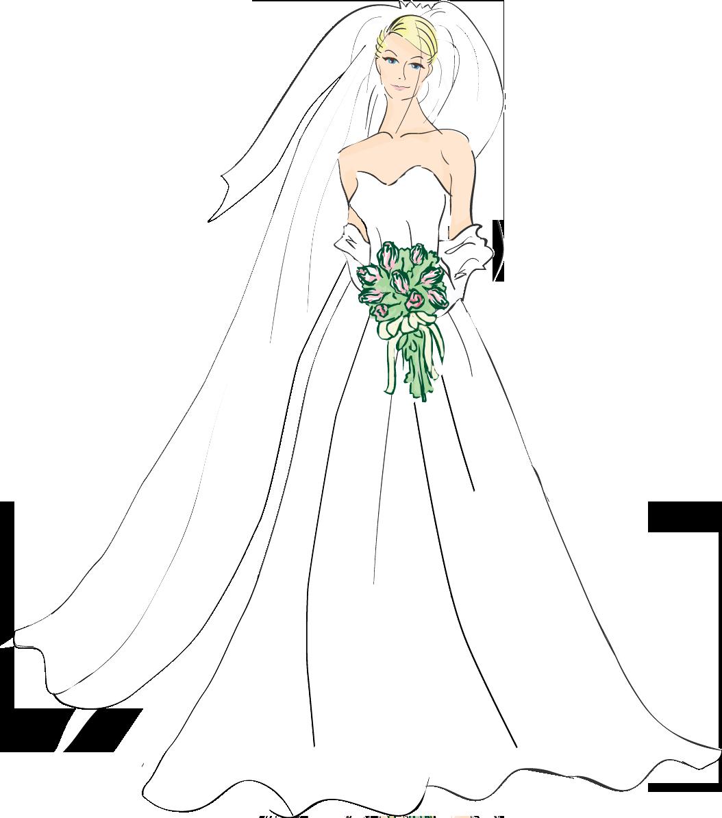 Bride clipart skinny bride Download Download clipart clipart #3