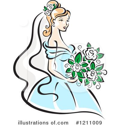 Bride clipart Illustration Stock Clipart SM Royalty