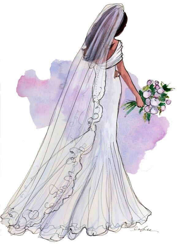 Bride clipart skinny bride 135 ღ about #clipart on