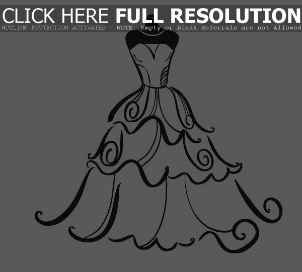 Bride clipart alteration #8
